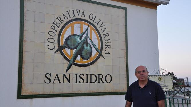 Rafael Porras Pavón, presidente de la cooperativa Olivarera San Isidro de Espejo (Córdoba).