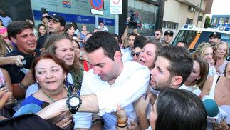Imágenes de Francisco Javier Medina, declarado no culpable, saliendo del juzgado.