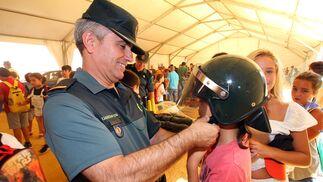 Imágenes de la jornada de puertas abiertas de la Guardia Civil.