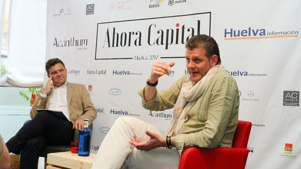 Pedro Mario , chef de El Ermitaño, en el ciclo Ahora Capital.