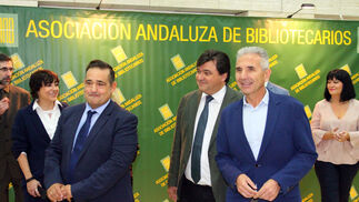 Imágenes de la inauguración de las XIX Jornadas Bibliotecarias de Andalucía.