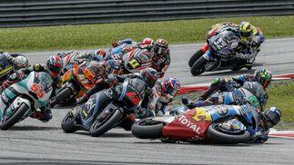 Las imágenes del GP de Malasia