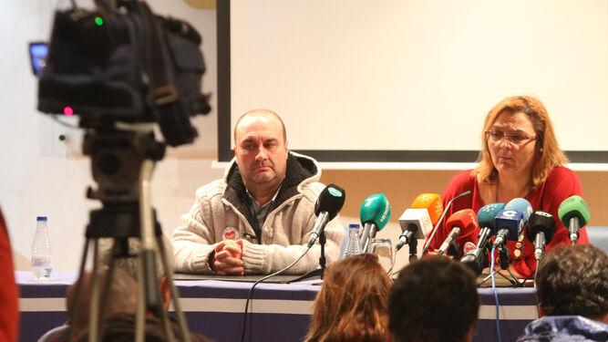 Paloma Hergueta, en la rueda de prensa ofrecida ayer.