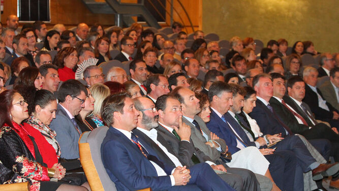 Algunos de los asistentes al acto celebrado en el Foro Iberoamericano.