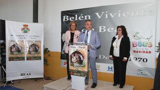 Imágenes de la inauguración del Belén viviente de Beas
