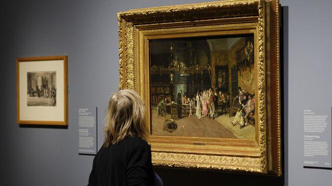 'La vicaría', un cuadro que fue todo un fenómeno en su tiempo.