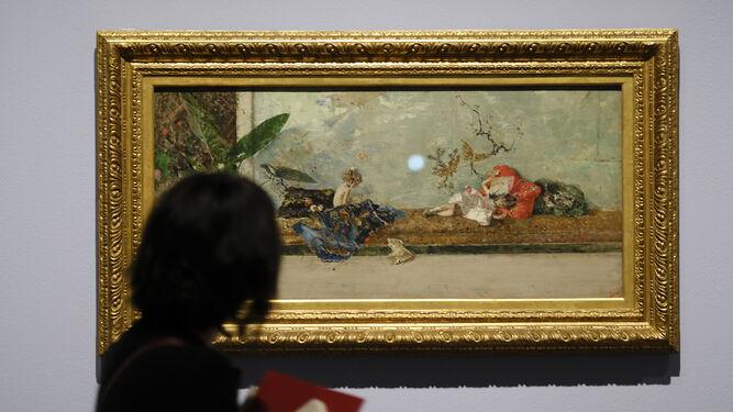 'Los hijos del pintor en el salón japonés', su obra maestra.