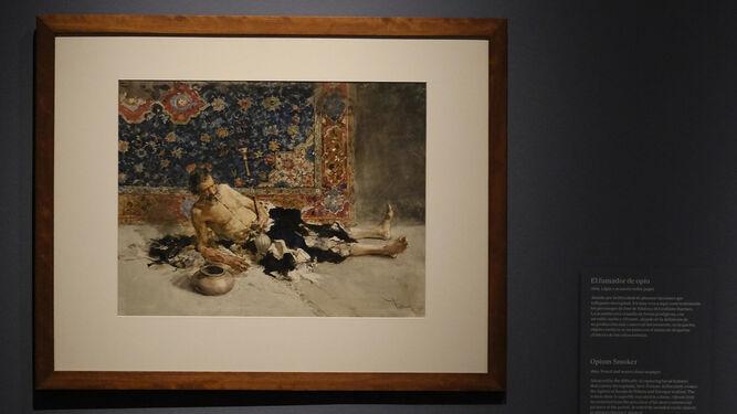 'El fumador de opio', que por primera vez cede el Hermitage.