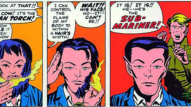 El regreso del Príncipe Submarino se produjo en 'Fantastic Four nº 4' (Marvel Comics, 1962).