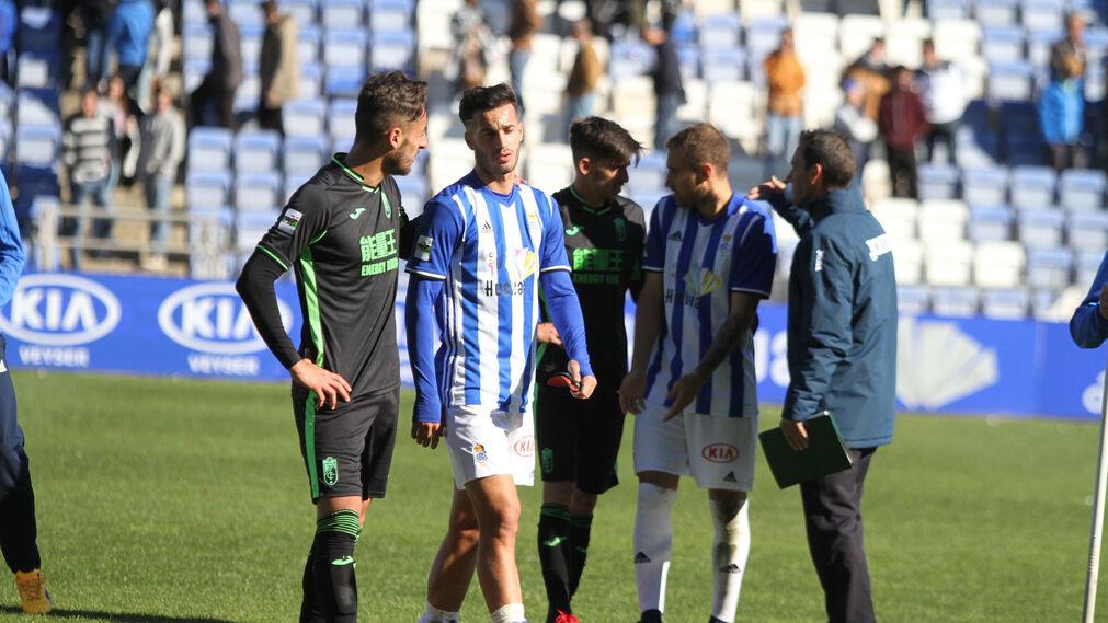 Imágenes del partido entre el Recreativo de Huelva y el Granada B