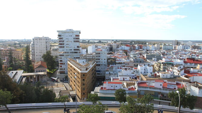 La panorámica más antigua de Huelva