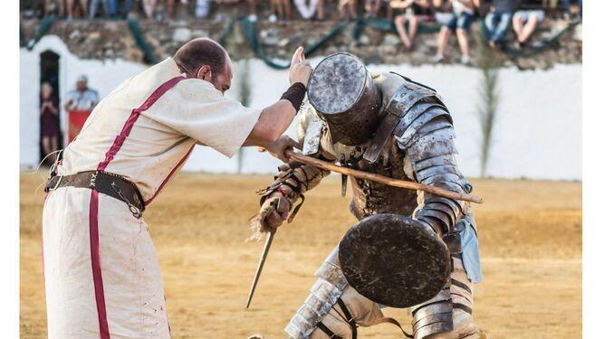 El circo romano se instala en Aroche