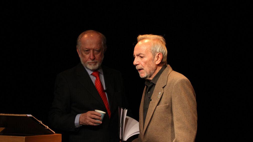 Cuarta Lectura del ciclo La lengua navega a América, con Luis Peirano y José Luis Gómez