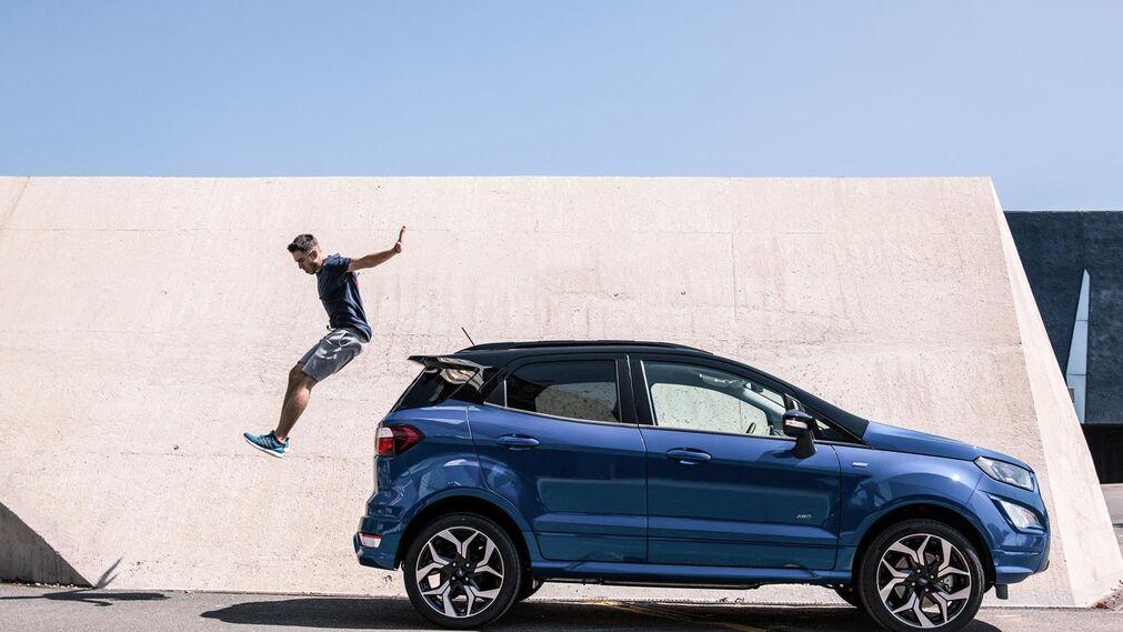 Así es el nuevo Ford EcoSport 2017