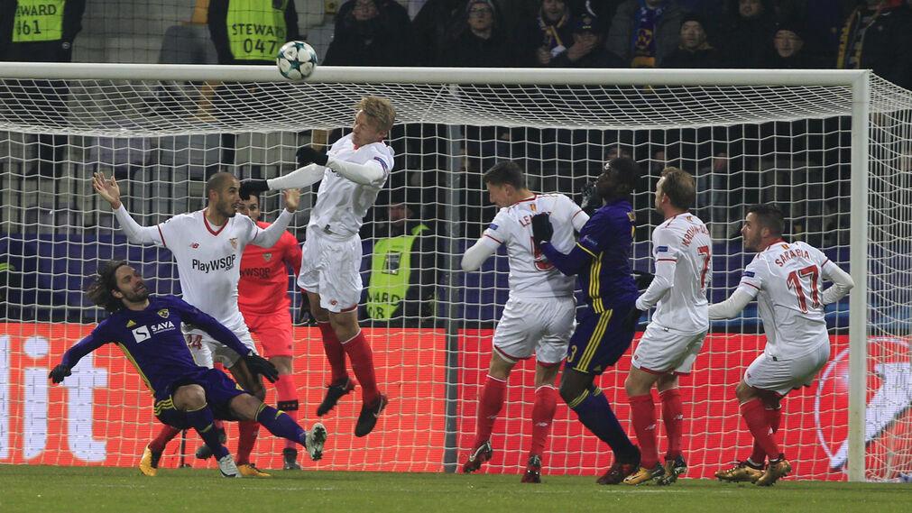 El Maribor-Sevilla FC, en imágenes