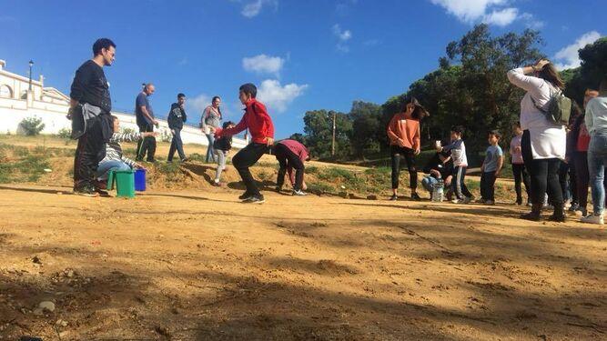 Jornada de convivencia celebrada en Moguer, el mes pasado.