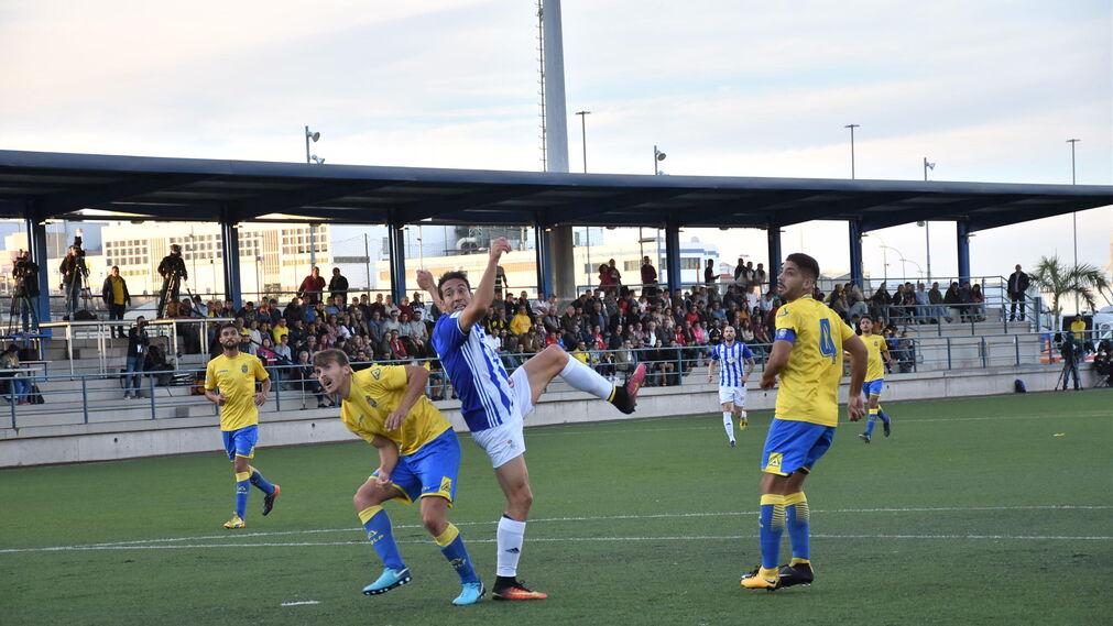 Las imágenes del Las Palmas Atlético-Recreativo