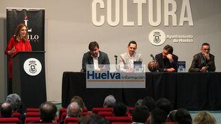 """Imágenes de la presentación del libro de Juanma Garrido """"No quiero verte llorar""""."""