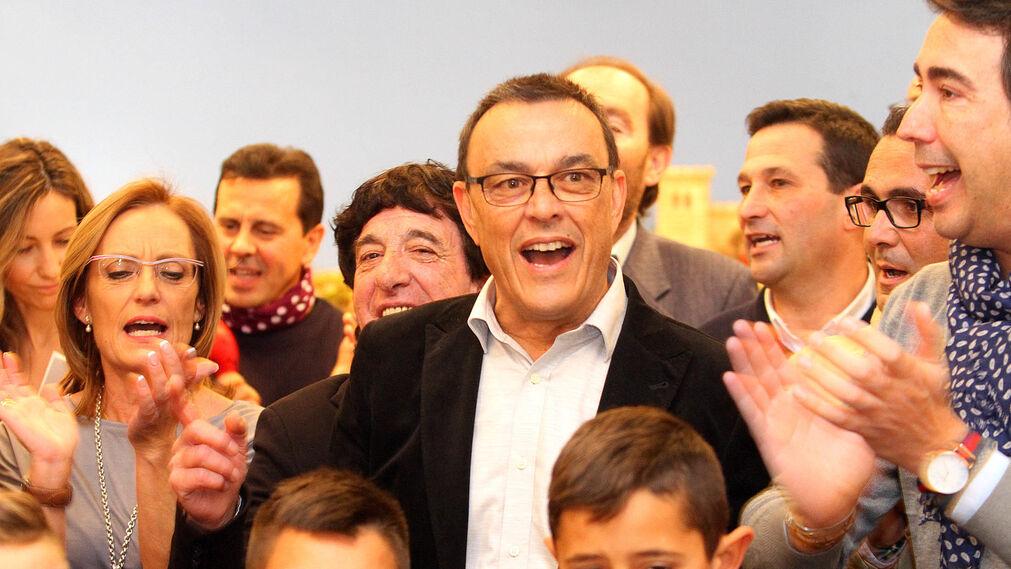 Imágenes de la inauguración del Belén de la Diputación y de otros rincones del mundo.