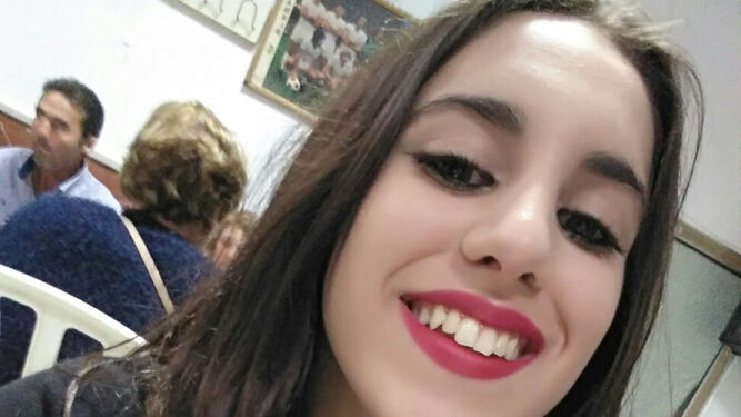La adolescente desaparecida, María Adela Rodríguez, en una imagen reciente.
