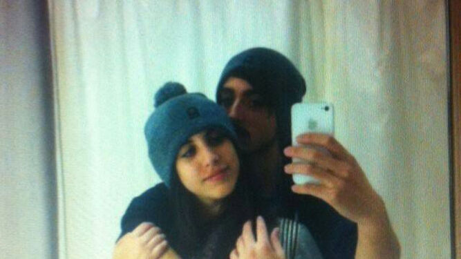 La pareja de desaparecidos.