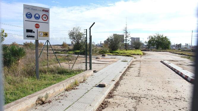 Terrenos que pertenecieron a Foret y que serán integrados en los nuevos espacios portuarios.