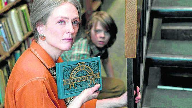 Julianne Moore, en un fotograma de 'El museo de las maravillas'.
