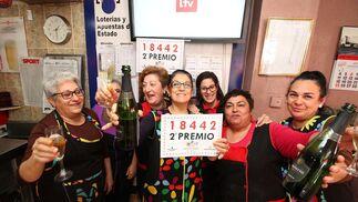 Imágenes del premio de la lotería del Niño en Niebla
