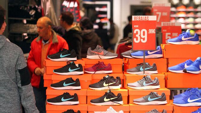 El calzado es uno de los sectores que más esperan de estos días.