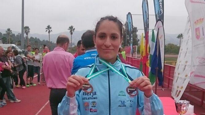 Daniel Andivia y Lidia Rodríguez, campeones
