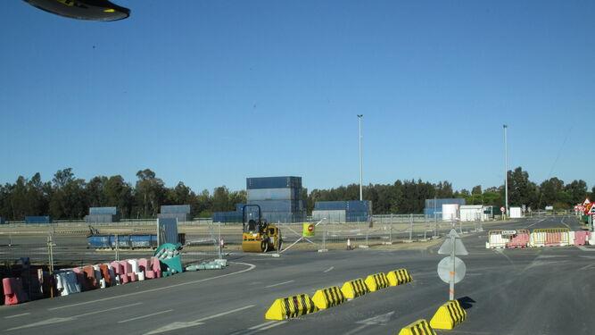 Imágenes de la ampliación de las instalaciones de Concasa en el Puerto de Huelva.