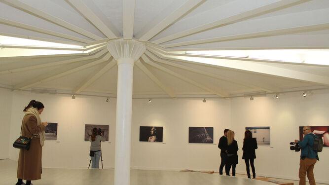 Vista general de la sala de exposiciones Cantero Cuadrado con las obras ganadoras del certamen Contemporarte 2017.