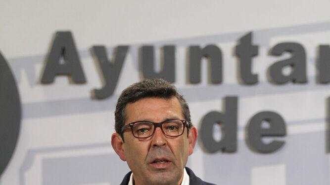 El concejal de Infraestructuras y Servicios Públicos, Luis Albillo.