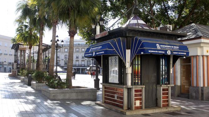 Punto de Información Turística de la Plaza de las Monjas.