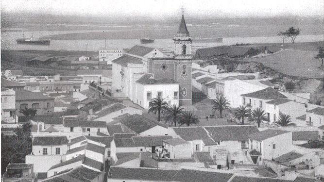 La plaza de SAN PEDRO y el barrio  de SAN SEBASTIÁN