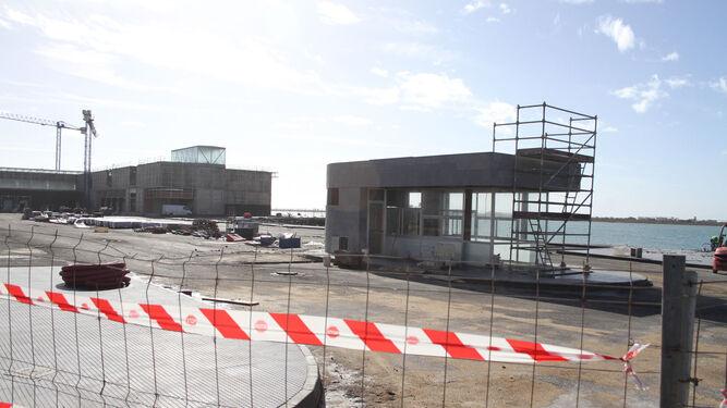 Imagen de las obras que se llevan a cabo para la construcción de las nuevas instalaciones.