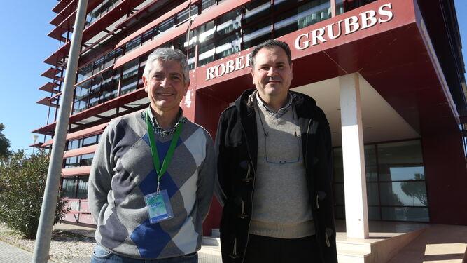 Tomás Rodríguez -izquierda- y José María Franco.