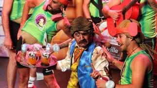 Sexta jornada de la preliminares del Carnaval Colombino 2018 en imágenes