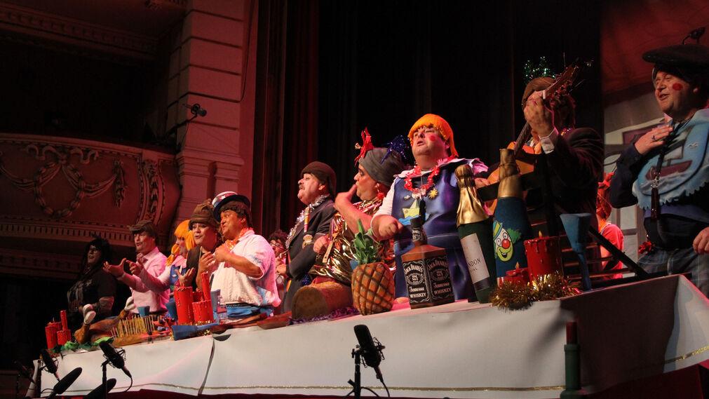 Imágenes de la séptima jornada de preliminares del Carnaval Colombino