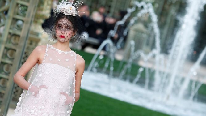 La alta costura de Chanel en la Semana de la Moda de París.