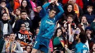Las imágenes del Valencia-Real Madrid