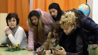 Imágenes de los participantes del proyecto 'Erasmus +' de intercambios educativos denominado 'Seamos escuelas amigas unidas por la lengua'