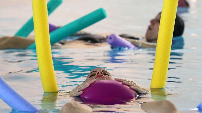 Preparación al parto en la piscina