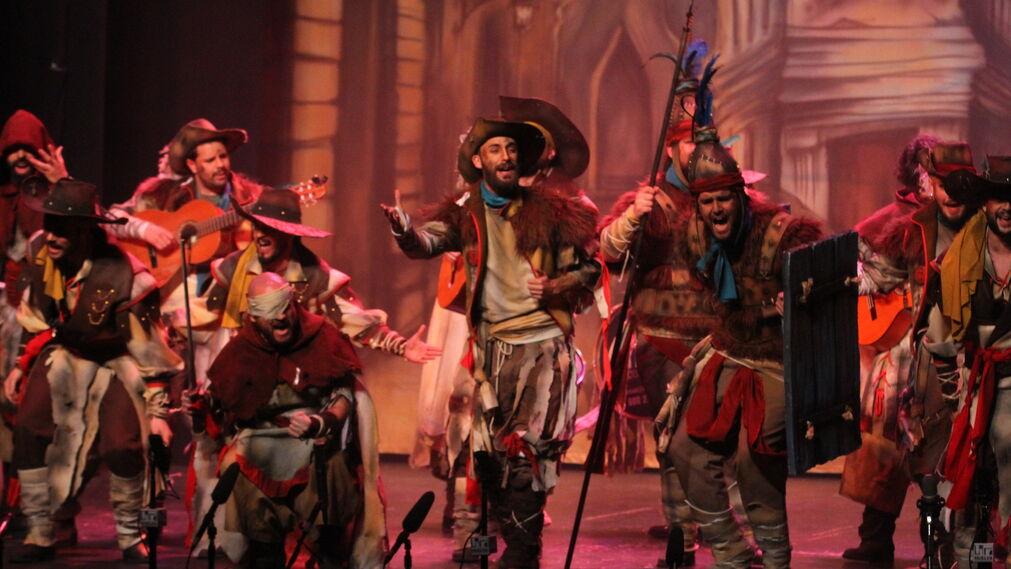 Imágenes de la cuarta semifinal del Carnaval Colombino 2018