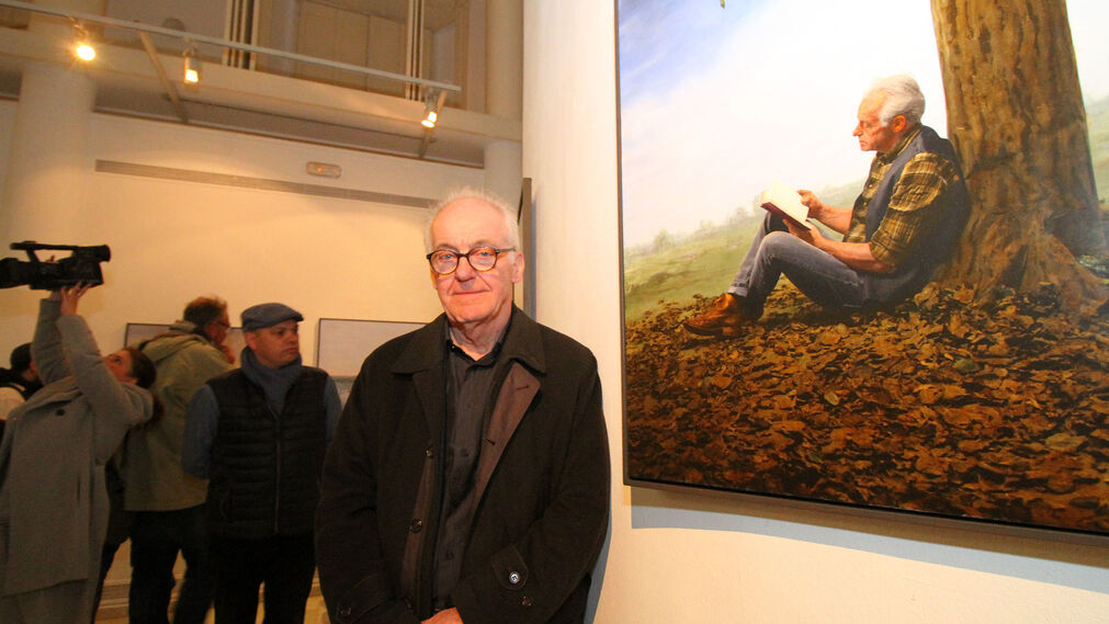 Imágenes de la inauguración de dos exposiciones de Latitudes: 'Cespedosa', de Castro Prieto, y 'Untitled', de Teun Hocks