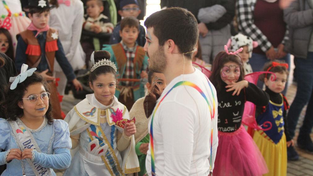 Fiesta infantil del Carnaval Onubense en el antiguo estadio Colombino