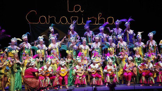 Coro La Canarinha, vencedor también en su modalidad.