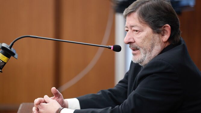Javier Guerrero, en los juzgados