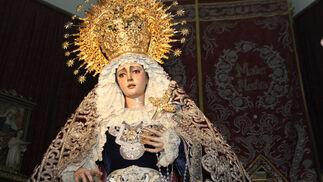 Besamanos de la Virgen de La Soledad en La Concepción
