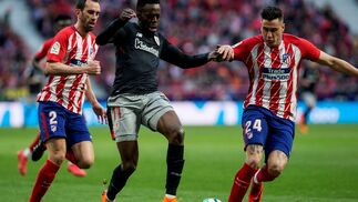 El Atlético de Madrid-Athletic de Bilbao, en imágenes